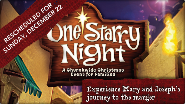 one starry night rescheduled